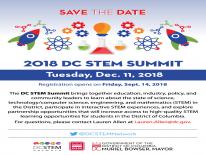 DC STEM Summit 2018 Flyer